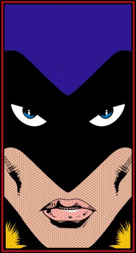 A design of Teen Titan's Raven, by Brandon Rodriguez
